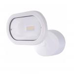 14W LED Security Light, Single Head, White, 3000K