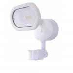 14W LED Security Light w/ Motion Sensor, Single Head, White, 3000K