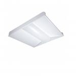 32W 2x2 LED Troffer, White, 5000K