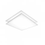 2x2 LED Flat Panel, 2-Pack, White