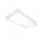 2x4 LED Flat Panel, 2-Pack, White