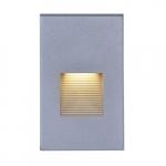 LED Vertical Step 277V Accent Light, Gray