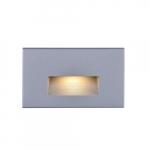 LED Horizontal Step 120V Accent Light, Gray