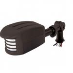 Outdoor Security Add on, Motion Sensor Light, Black Finish