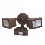 300W, Outdoor Security Flood Light, Motion Sensor, Bronze