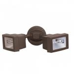 300W, Outdoor Security Flood Light, Bronze
