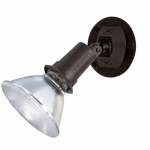 150W Outdoor Security Flood Light, Adjustable Swivel, Bronze Finish