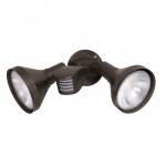 "14"" Outdoor Security Flood Light, Adjustable Swivel and Motion Sensor, Bronze"
