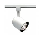 50W Track Light, PAR20, Short Bullet Cylinder, 1-Light, White