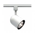75W Track Light, PAR30, Short Bullet Cylinder, 1-Light, White
