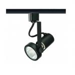 50W Track Light, PAR20, Gimbal Ring, 1-Light, Black
