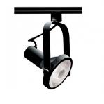 75W Track Light, PAR30, Gimbal Ring, 1-Light, Black