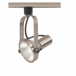 75W Track Light, PAR30, Gimbal Ring, 1-Light, Brushed Nickel