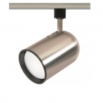 75W Track Light, R30, Bullet Cylinder, 1-Light, Brushed Nickel