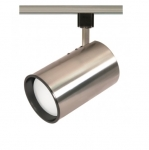 75W Track Light, R30, Straight Cylinder, 1-Light, Brushed Nickel