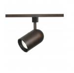 1-Light Track Light Head, R20, Bullet Cylinder, Russet Bronze