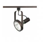 1-Light Track Light Head, PAR38 Bulb, Gimbal Ring, Russet Bronze