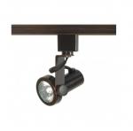 1-Light Track Light Head, MR16, Gimbal Ring, Russet Bronze