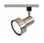 1-Light Track Light Head, R30, Step Cylinder, Brushed Nickel