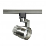12W LED Angle Arm Light, 24 Degree Beam, Brushed Nickel Finish