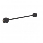 24in Extension Wand, Black