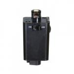 Pendant Track Adapter, Black