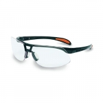 Clear Lens Safety Eyewear w/ Black Frame