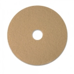 Ultra Champagne 17 in. Round Ultra High-Speed Burnishing Floor Pads