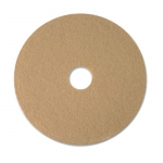 Ultra Champagne 20 in. Round Ultra High-Speed Burnishing Floor Pads