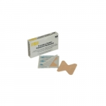 First Aid Yellow Fabric Fingertip Bandage