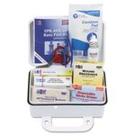 10 Person Plastic Ansi Plus First Aid Kit with Eyewash