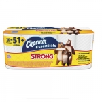 Charmin Essentials Strong Bathroom Tissue, 1-Ply, Pack of 20