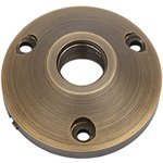 Brass Mounting Base for Landscape Fixtures