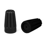 Black Silicone Wire Nut, Pack of 20