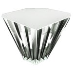 Plug and Play LED Diamond High Bay Fixture For 8 T8 Tubes