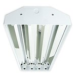 Plug and Play Horizon High Bay Fixture For 4 LED T8 Tubes