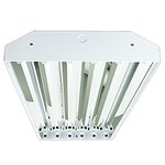 Plug and Play Horizon High Bay Fixture For 6 LED T8 Tubes