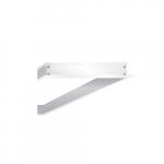 2 x 4' Flange Kit for LED Flat Panel, White