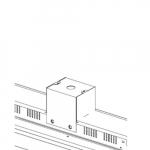 6in Pendant Mount for 480V LED Flat High Bay