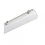 65W 4 Foot LED Vapor Tight Fixture, Dimmable, Frosted Lens, 5000K