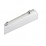65W 4 Foot LED Vapor Tight Fixture, Frosted Lens, 4000K