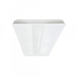 34W 2x4 Recessed LED Direct/Indirect Fixture, Dimmable, 5000K