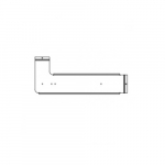 Mounting Bracket for 1x4 LED Panel Emergency Battery