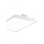 162W 1x2 LED Linear High Bay w/ V-Hook & Chain, 0-10V Dimmable, 21222 lm, 5000K