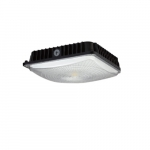 45W LED Surface Mount Ceiling Light, Black, Amber CCT