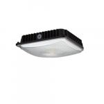 60W LED Surface Mount Ceiling Light, 5000K, Black