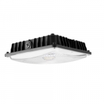 60W LED Surface Mount Ceiling Light, 7800 lm, 4000K, Black