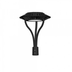 80W LED Designer Post Top Light, 120V-277V, 5000K