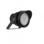 600W Outdoor LED Stadium Light, 240V-480V, 5000K, Black