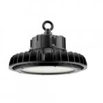 240W LED UFO High Bay, 0-10V Dimmable, 33600 lm, 120V-277V, 5000K
